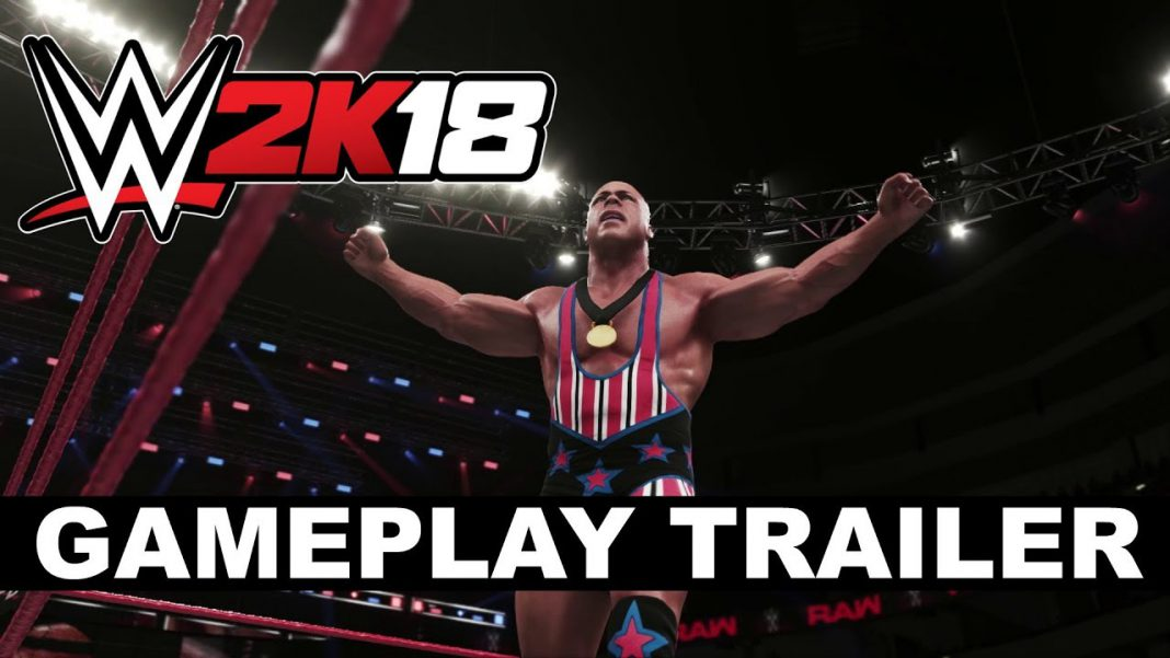 WWE 2K18 ROAD TO GLORY GAMEPLAY