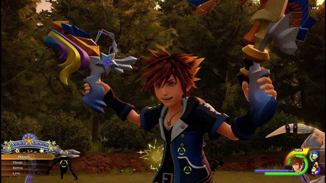 Kingdom hearts 3 monster & cies. monde 1