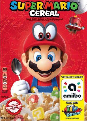 super mario odyssey cereales kellogg's