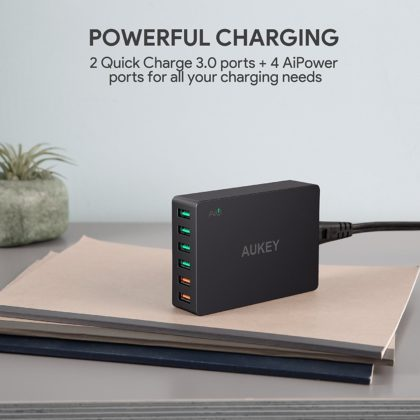 Test chargeur Aukey PA-T11