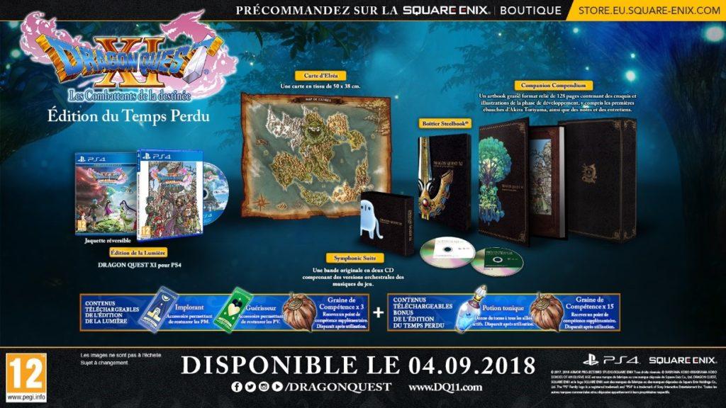 édition du temple perdu dragon quest 11