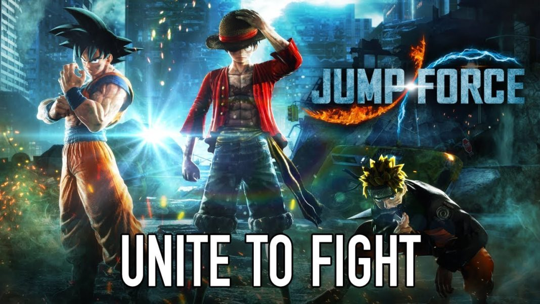 JUMP FORCE roster complet