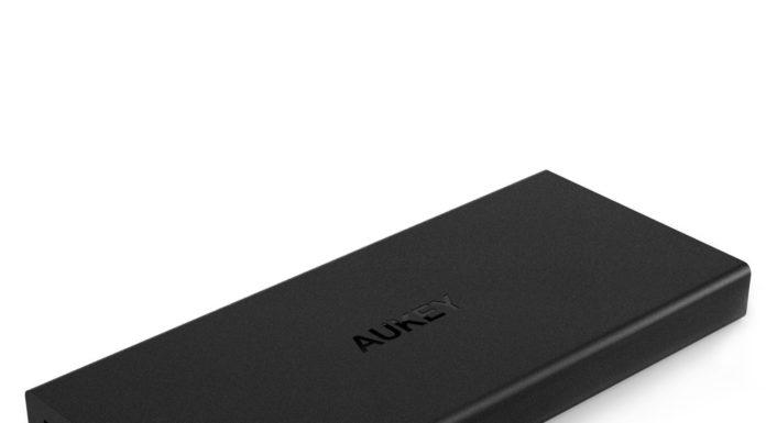 test aukey pb-t9 powerbank batterie externe 16 000 mah