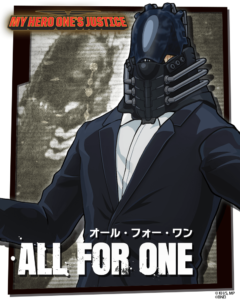 all for one my hero MY HERO ONE'S JUSTICE