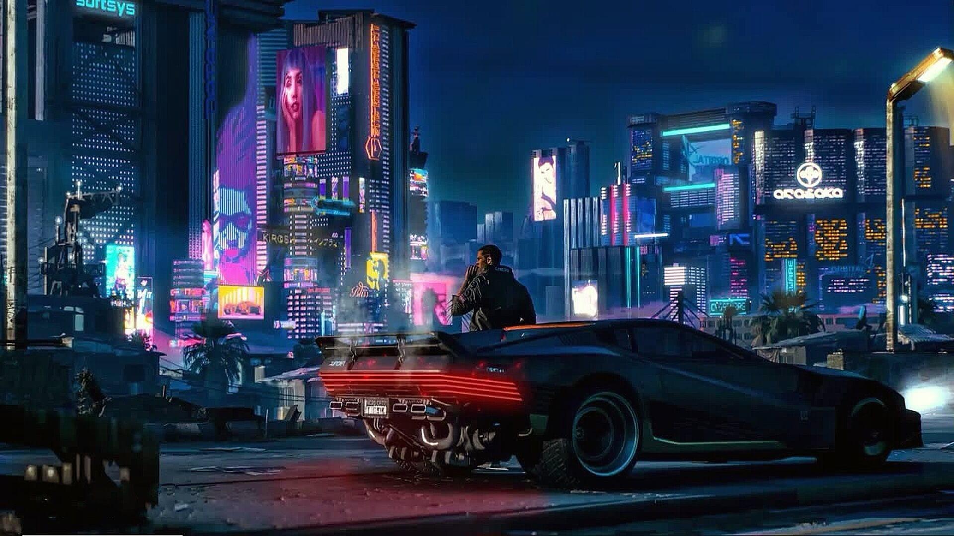 Cyberpunk 2077 Wallpapers Hd: Cyberpunk 2077 : De Nouvelles Images Dévoilées