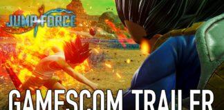 jump force bandai namco trailer gamescom 2018
