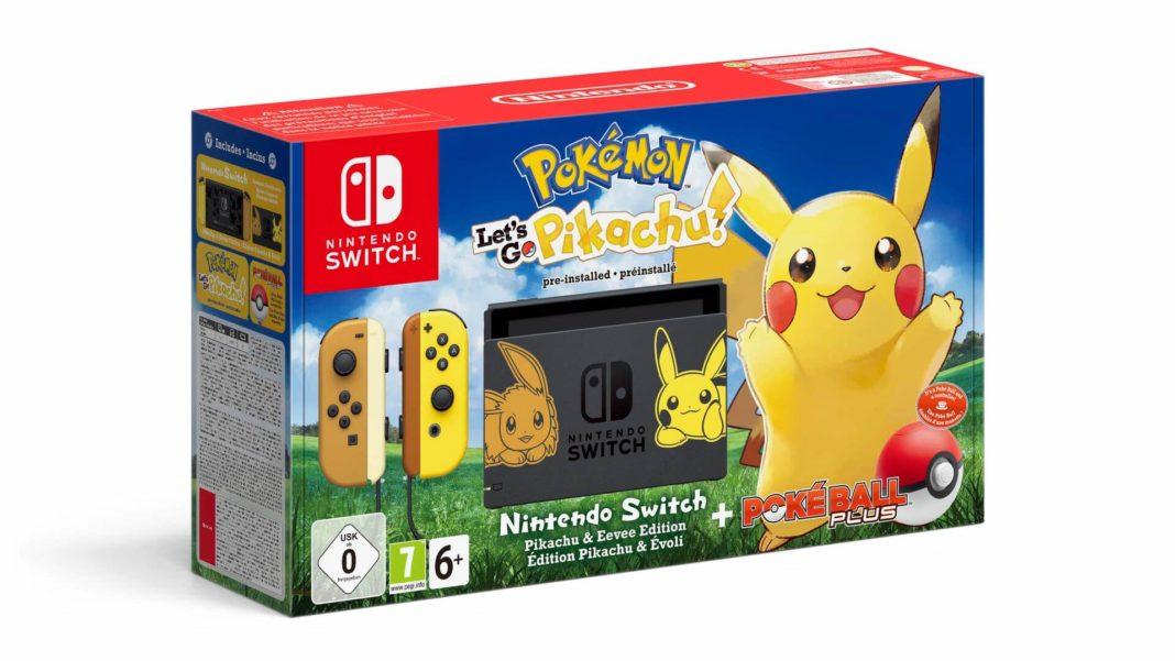 Nintendo Switch Pokemon Let's GO