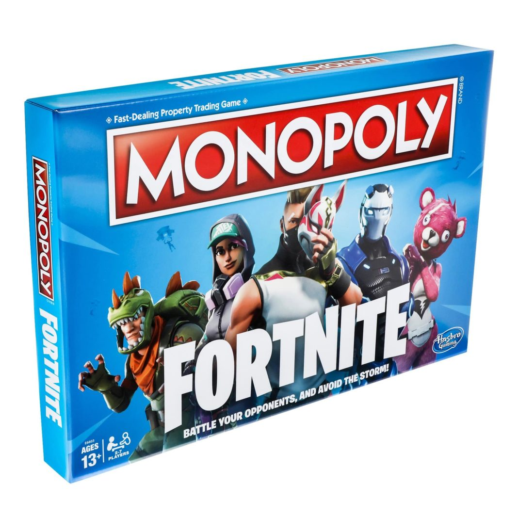 Monopoly hasbro fortnite battle royal