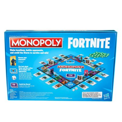 Monopoly hasbro fortnite battle royal 2