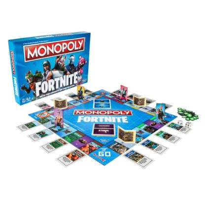 Monopoly hasbro fortnite battle royal 3