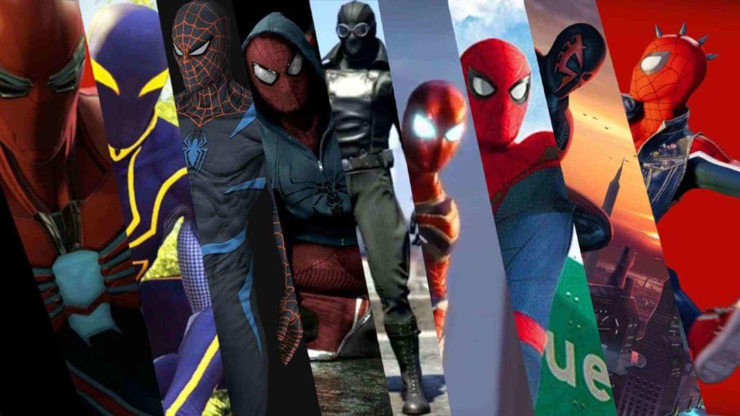 Le classement des costumes Spider,Man sur PS4