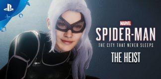 black cat marvel spider-man ps4