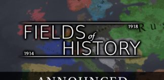 annonce Fields of History The Great War