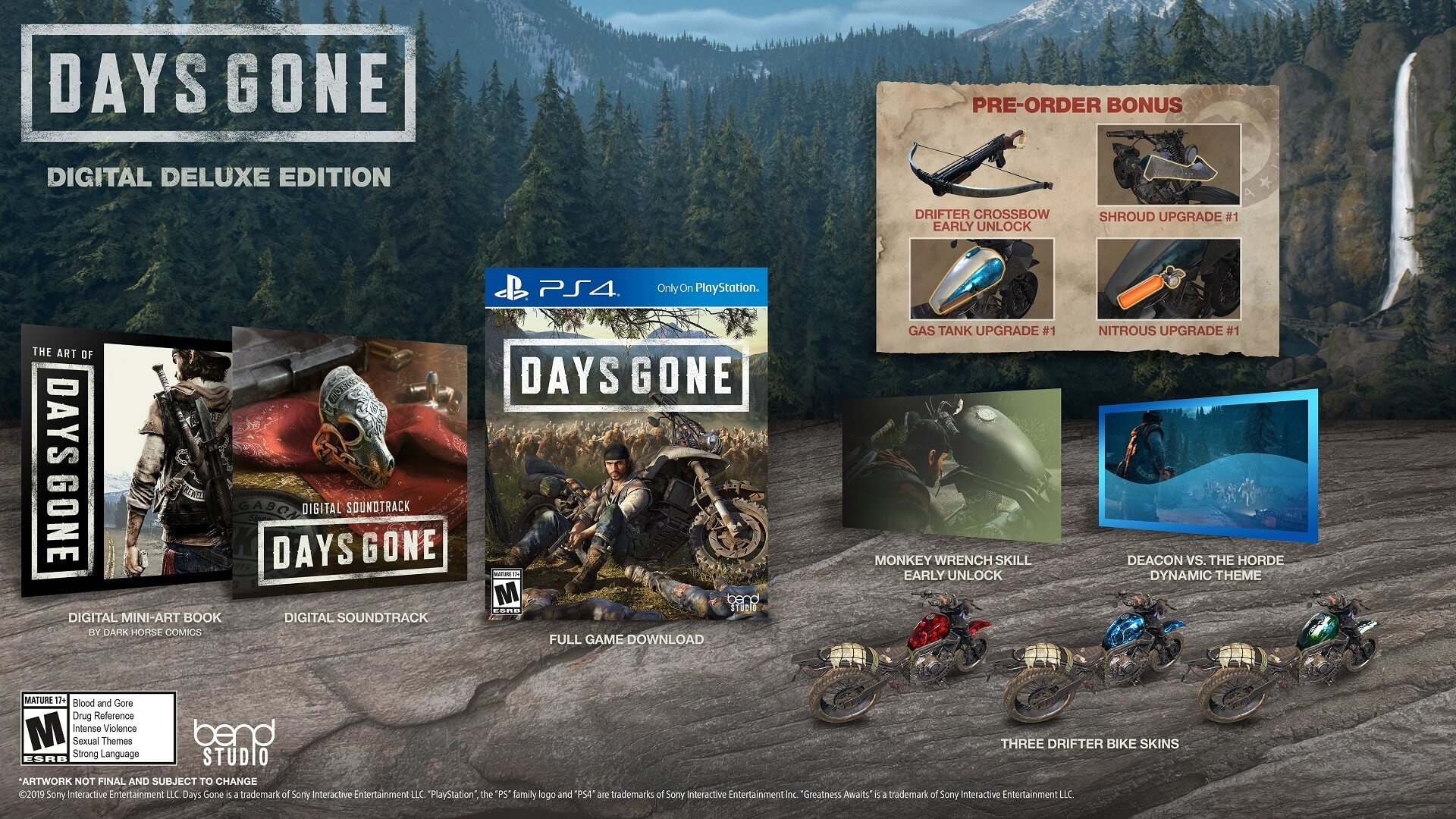 édition collector Days Gone