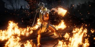 Mortal Kombat XI look scorpion