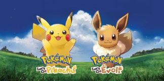 Pokemon Let's Go Evoli Pikachu