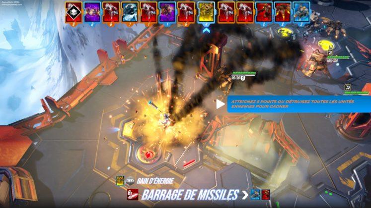TEST - BATALJ - Barrage de missiles