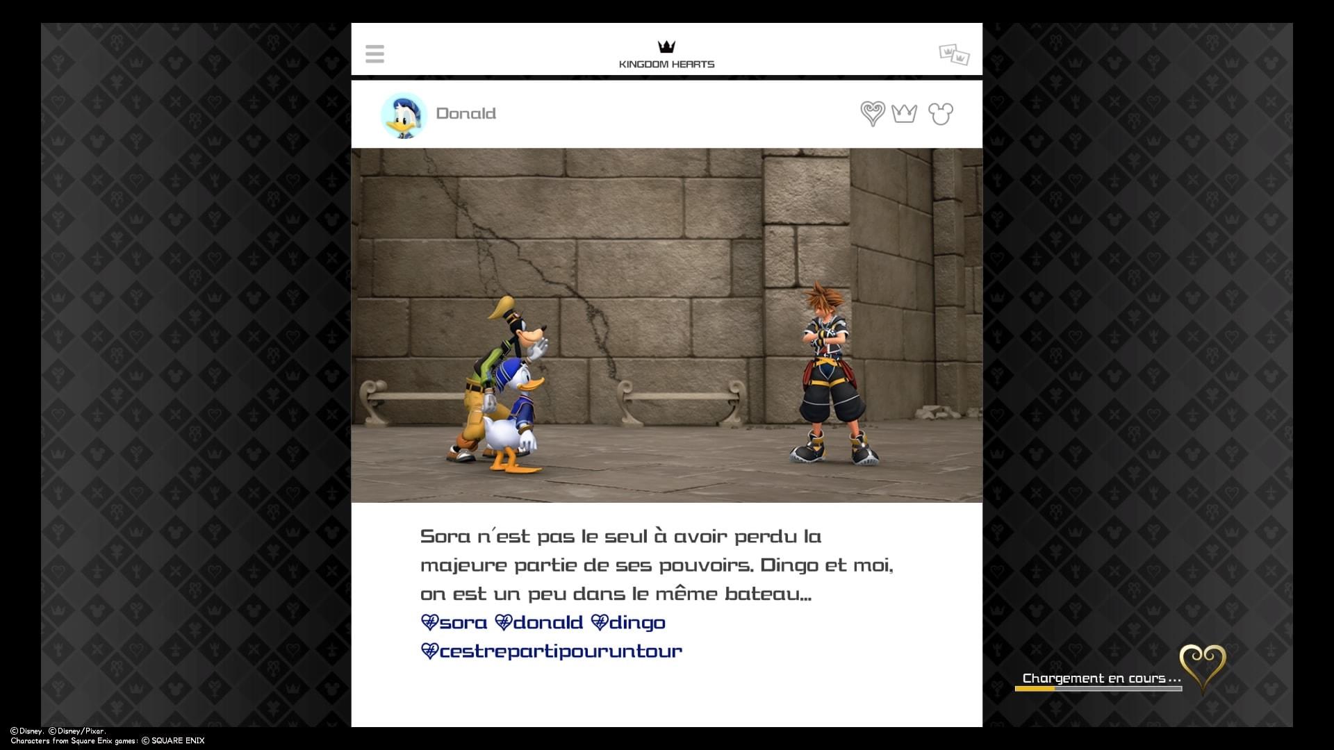 Kingdom Hearts 3 test instagram