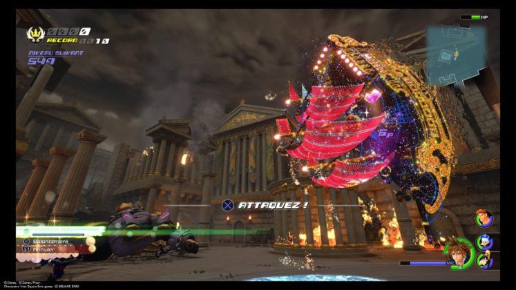 Kingdom Hearts 3 test attaque spéciale