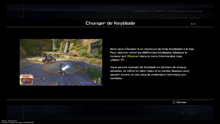 Kingdom Hearts 3 test keyblade