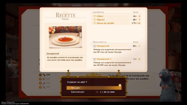 Kingdom Hearts 3 test cuisine