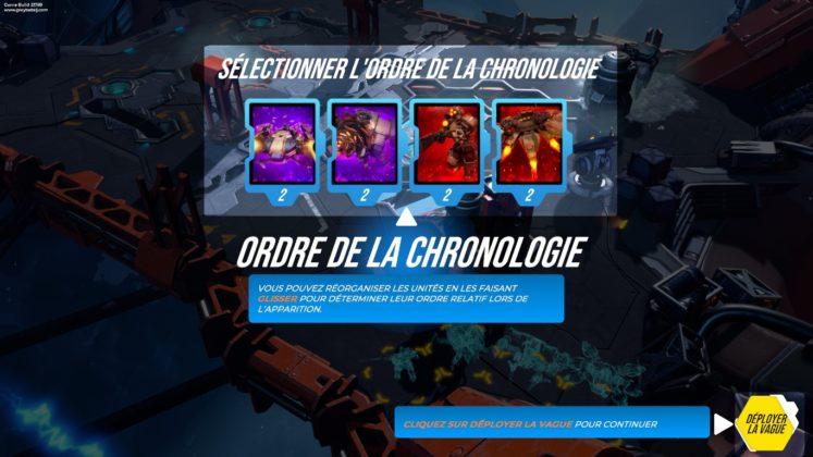 TEST - BATALJ - Ordre chronologie