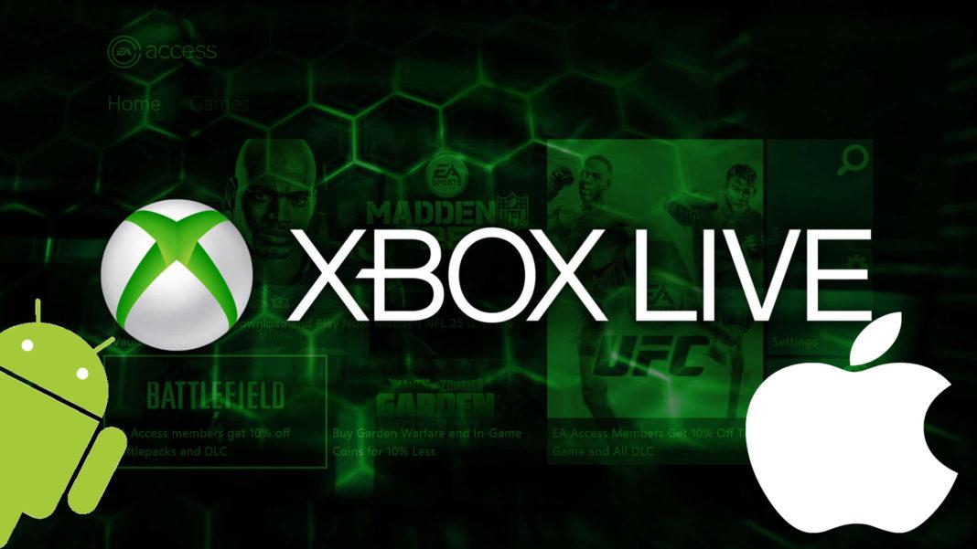 Xbox Live sur Android et IOS