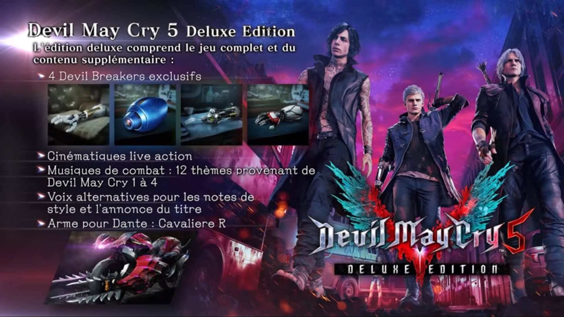 Behind the Scene de Devil May Cry V