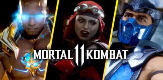 personnages jouables de Mortal Kombat XI