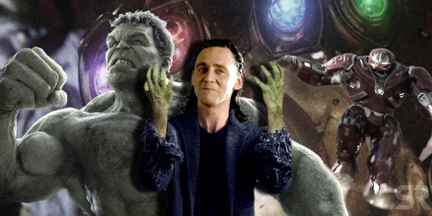 Avengers Endgame Loki Hulk