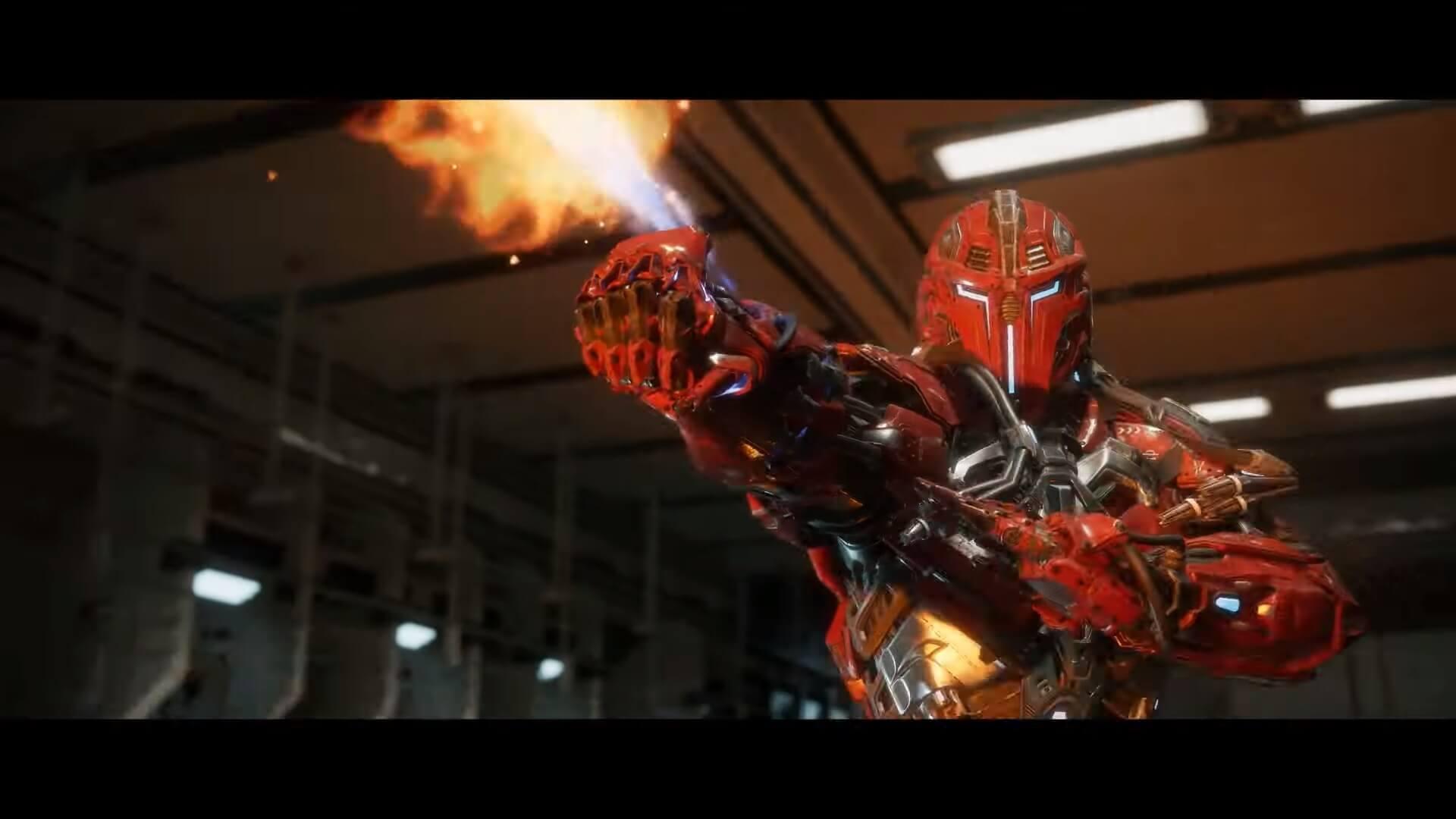 trailer de lancement Mortal Kombat XI
