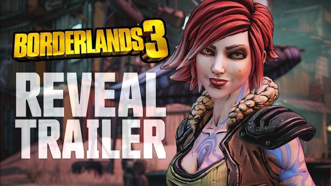 Borderlands 3 date sortie trailer