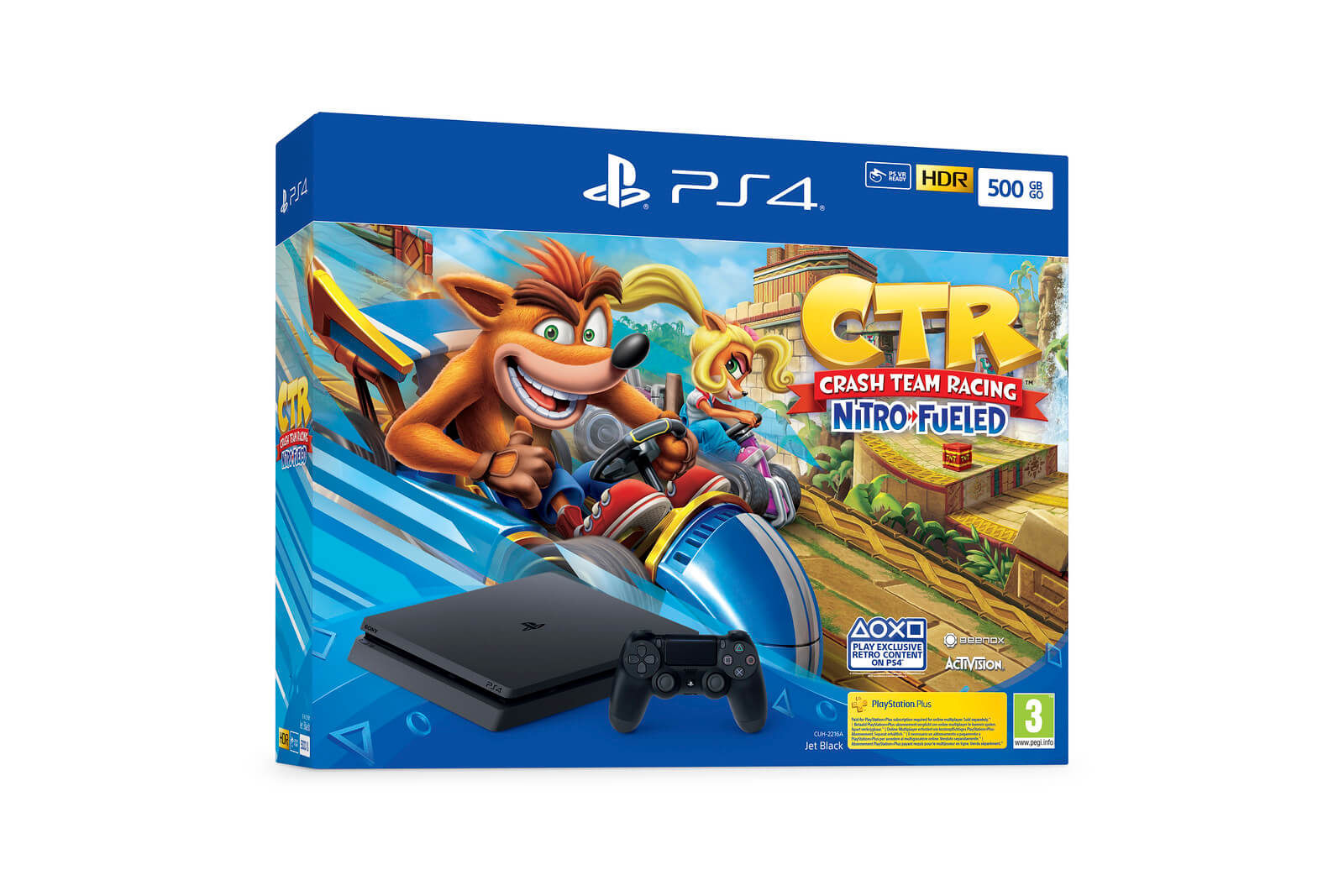bundles PS4 Crash Team Racing Nitro-Fueled