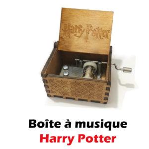 acheter boite à musique harry potter boutique geek