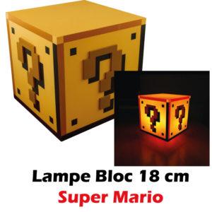 acheter lampe mario bloc boutique geek