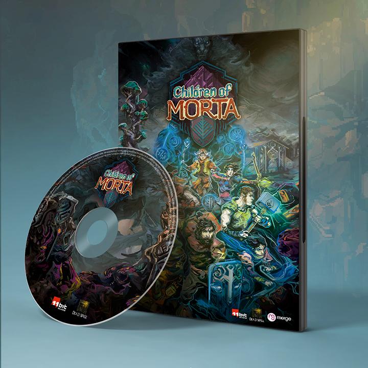 Children of Morta boxed edition édition boite