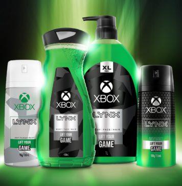 Xbox savon gel douche