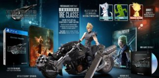 Edition Collector de Final Fantasy VII Remake