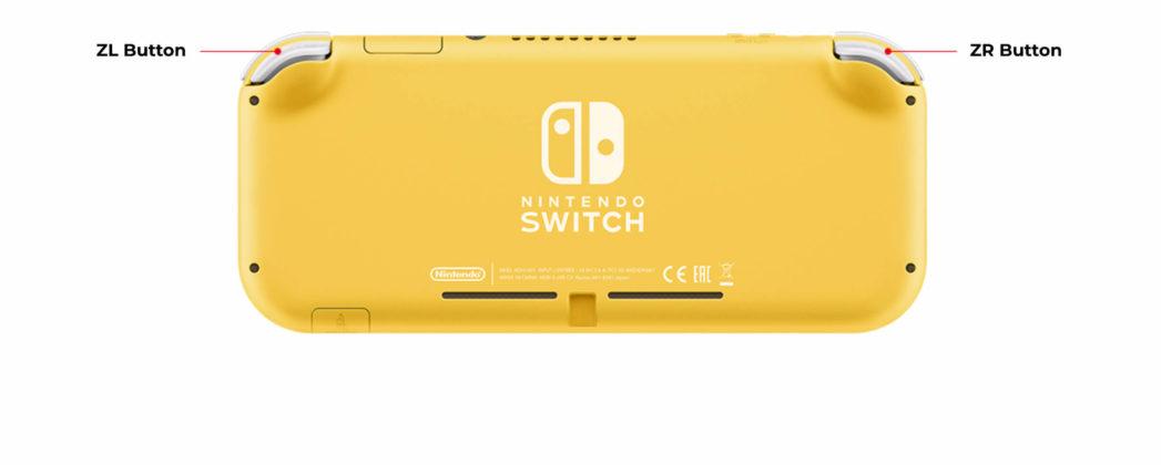 Nintendo Switch Lite - Arrière