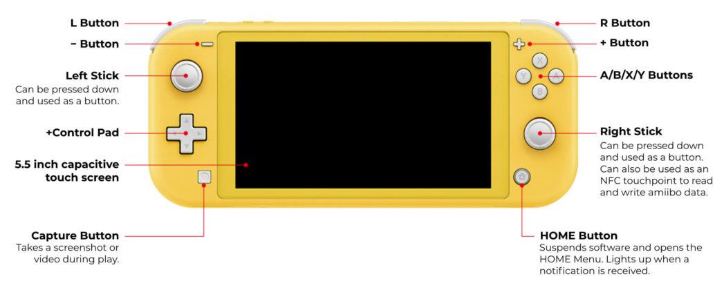 Nintendo Switch Lite - Avant