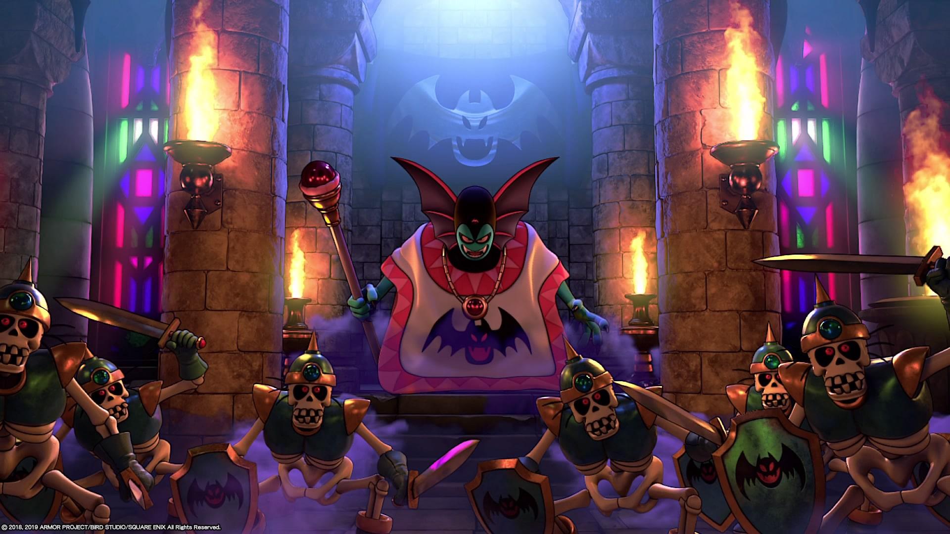 Hargon Dragon quest builders 2 evil boss