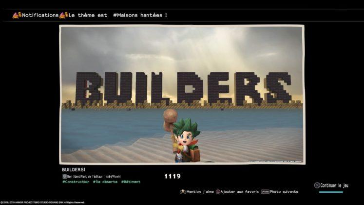 meilleures créations dragon quest builders 2
