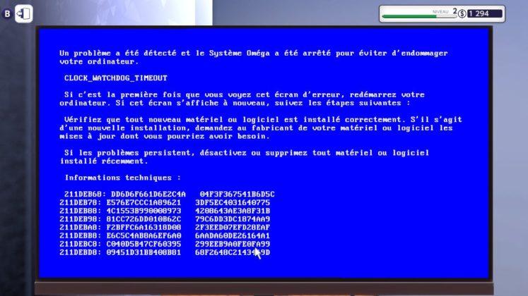 PC Building Simulator - Message d'erreur