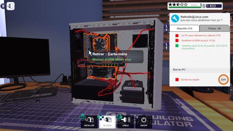 PC Building Simulator - Surbrillance