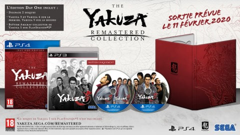 Yakuza Remastered Collection limitée