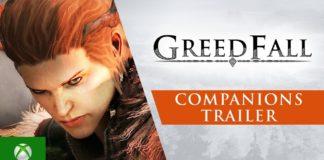 GreedFall compagnons de route présentés