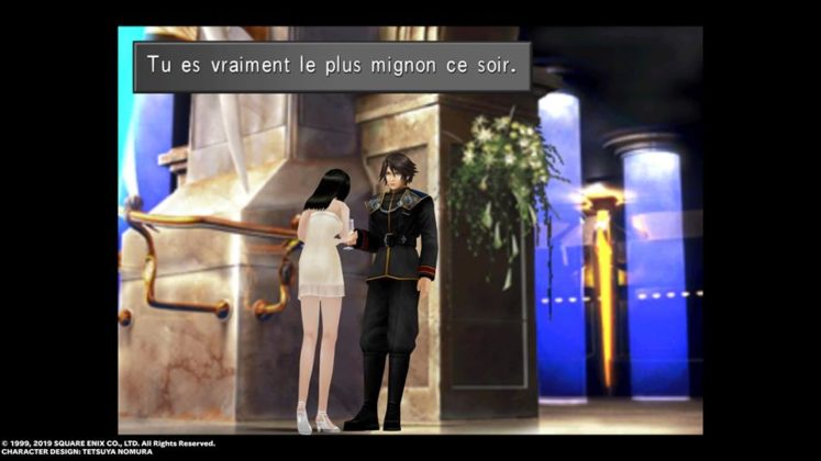 Final Fantasy VIII Remaster scène de bal