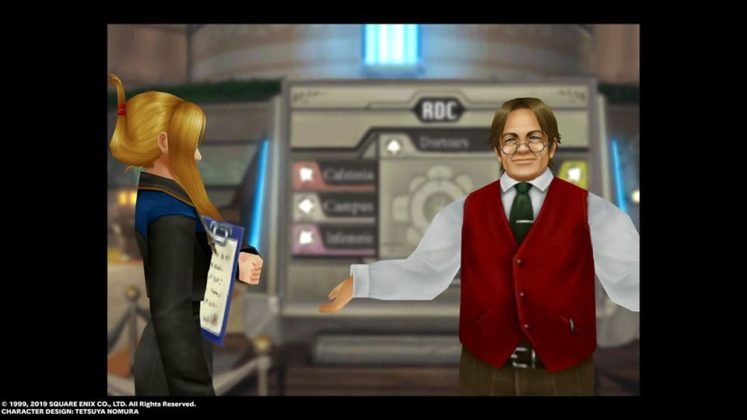 Final Fantasy VIII Remaster Cid