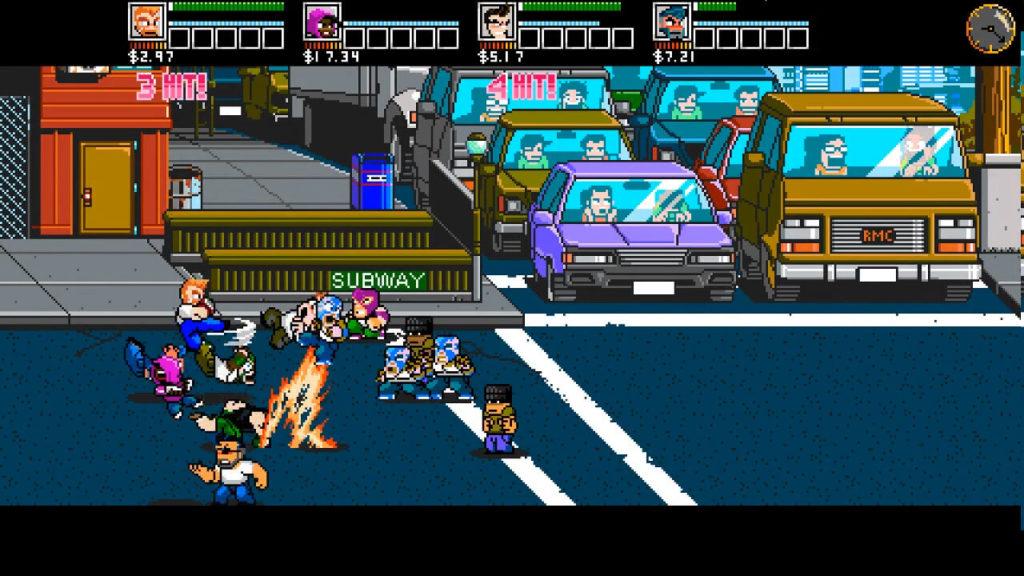 River City Ransom : Underground améliore les graphismes et les animations.