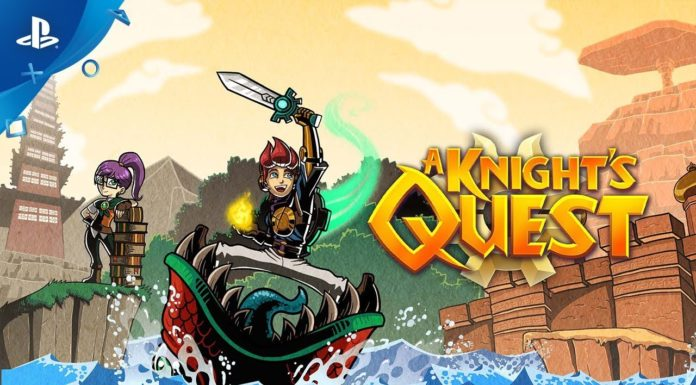 Test A Knight Quest PS4